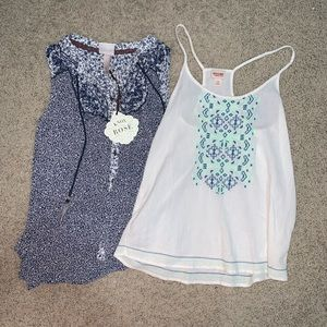 Cute Patterned Tank Tops BUNDLE